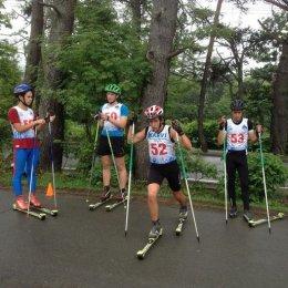 120 участников собрали областные соревнования по лыжероллерам