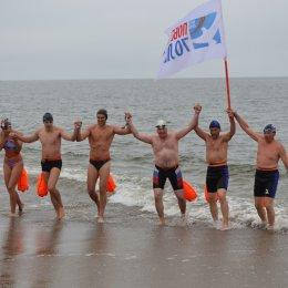 На Сахалине начались тренировки участников Международной эстафеты «Доплыть до Победы!»