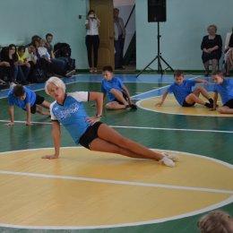 Светлана Хоркина провела урок физкультуры в СОШ № 6