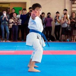 В спортивном зале СДЮСШОР ВВЕ состоялось открытое первенство Южно-Сахалинска по каратэ WKF
