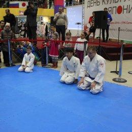 Гости Дня культуры Японии увидели показательные выступления дзюдоистов