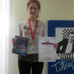 Алиса Кокуева стала призером Кубка Москвы по шахматам