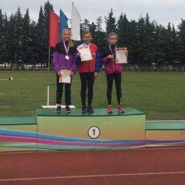 Виолетта Крышина заняла второе место на Всероссийских соревнованиях