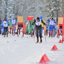 Сахалинские лыжники выступили на этапе Континентального Кубка