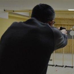 Первый этап стрельбы