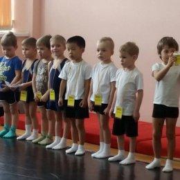 В ДС «Кристалл» состязались гимнасты не старше семи лет