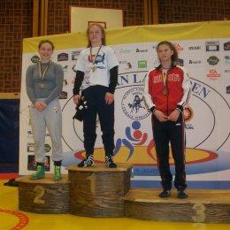 Анастасия Парохина – бронзовый призер международного турнира