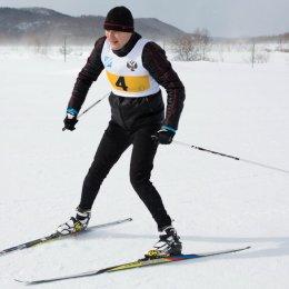 Сборная Правительства одержала победу в лыжных гонках