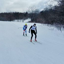 Лыжные гонки в Соловьевке