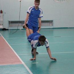 Тренировка волейболистов