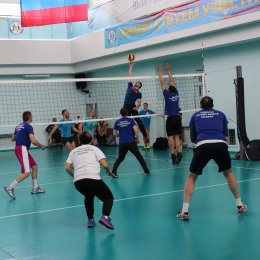 Команда ВЦ «Сахалин» выиграла волейбольный турнир Спартакиады минспорта