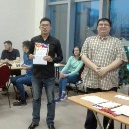 Константин Сек занял второе место на чемпионате ДФО по быстрым шахматам