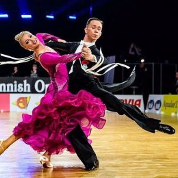 Дана Спицына и Евгений Мошенин – в ТОП-5 турнира серии «Grand Slam»