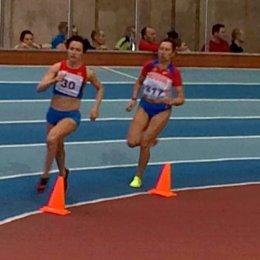 Лариса Жук завоевала две золотые медали чемпионата России среди ветеранов