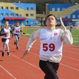 Участники Спартакиады допризывной молодежи пробежали 100 метров и 3 километра