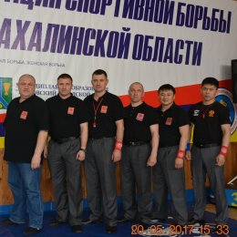 Борцы из шести районов острова приняли участие в региональном турнире по борьбе в пгт. Тымовское