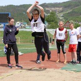 Спортсмены с ограниченными возможностями здоровья определили обладателей наград в беге, метании мяча и прыжках в длину
