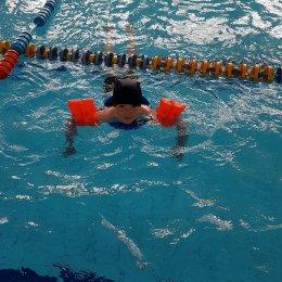 «Тигрята» в бассейне