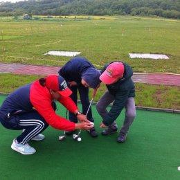 «Тигрята» учатся гольфу