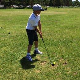 «Тигрята» сыграли в гольф