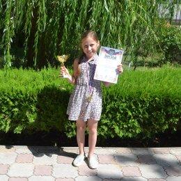 Алиса Маринина показала лучший результат среди девочек до 11 лет в блиц-турнире в Евпатории