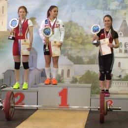 Анастасия Корчагина из Холмска завоевала бронзу первенства страны