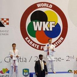 Сахалинские каратисты завоевали пять медалей молодежного Кубка мира