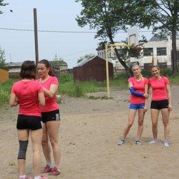 В чемпионате Поронайского района по пляжному волейболу участвовали спортсмены из Томска