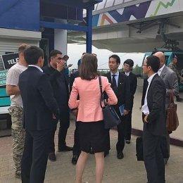 Посол Игр «Дети Азии» господин Хории Манабу побывал на спортивных объектах островной столицы