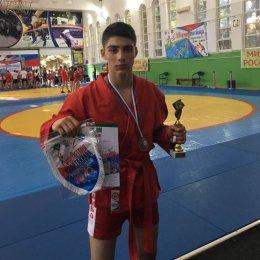 Малик Магомедбеков завоевал бронзовую медаль Спартакиады учащихся России