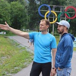 Старший тренер национальной сборной по лыжным гонкам посетил островной регион