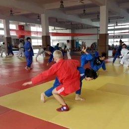Островные спортсмены провели мастер-класс по самбо в Китае