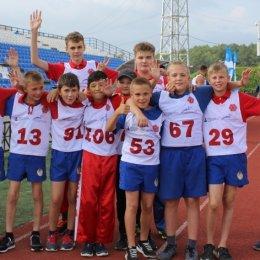Третий год подряд победителем летнего фестиваля ВФСК «ГТО» стали спортсмены из Холмска