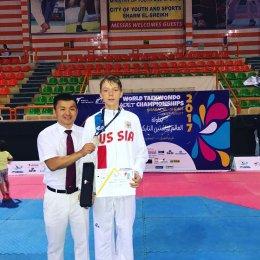 Георгий Боровиков из Южно-Сахалинска завоевал серебряную медаль первенства мира