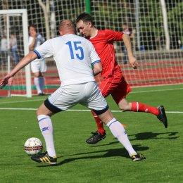 Победитель матча между командами Правительства области и военного оркестра был определен только в серии пенальти