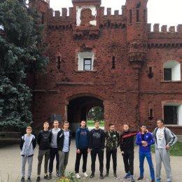 Волейболисты «Элвари-Сахалин» побывали в Брестской крепости