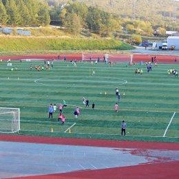В ОГАУ «ФК Сахалин» успешно прошел второй этап отбора на отделение футбола