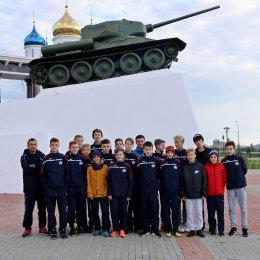 Участники зонального турнира первенства России посетили Музейно-мемориальный комплекс «Победа»