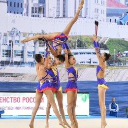 В СК «Олимпия-Парк» состоятся открытые областные соревнования по художественной гимнастике