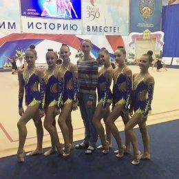 Сахалинские гимнастки впервые пробились в ТОП-50 всероссийских соревнований в групповых упражнениях