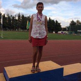 Лариса Жук из Южно-Сахалинска завоевала две золотые медали чемпионата России среди ветеранов