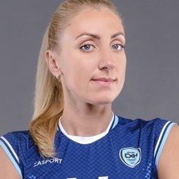 Олеся Шаравская – лидер «Сахалина» по количеству сыгранных партий, Елена Литовченко – по результативности