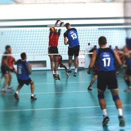 На волейбольном турнире «Золотая осень» определились лидеры