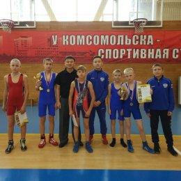 Сахалинские борцы завоевали четыре медали на дальневосточном турнире в Комсомольске-на-Амуре