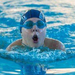 Юные пловцы состязались в «Дельфине»