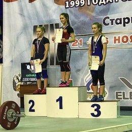 Анастасия Корчагина стала победительницей первенства России