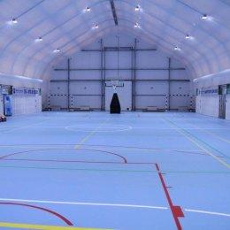В Южно-Сахалинске торжественно открыли универсальный спортивный комплекс