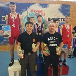 Островные борцы успешно выступили на дальневосточном турнире в Комсомольске-на-Амуре