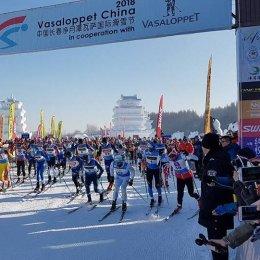Марина Черноусова выиграла международный лыжный марафон