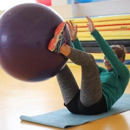 В ВЦ «Сахалин» в рамках «Декады спорта и здоровья» прошла «Фитнес-зарядка»
